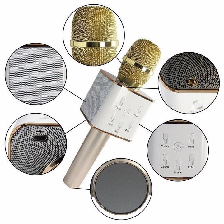 Mic-Micro kèm Loa hát Karaoke 3 trong 1Tuxun q7 chính hãng bluetooth 5