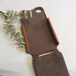 Bao da Iphone 4, 4s nắp xuống hiệu The core