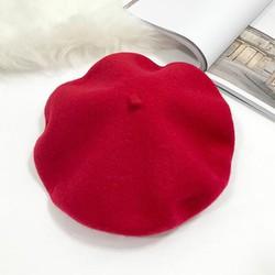 Mũ nồi beret cho trẻ em, mũ nồi dạ cho bé trai và bé gái mùa thu đông