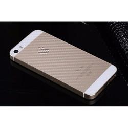 Miếng dán carbon mặt lưng full viền  cho iPhone 5 - 5s