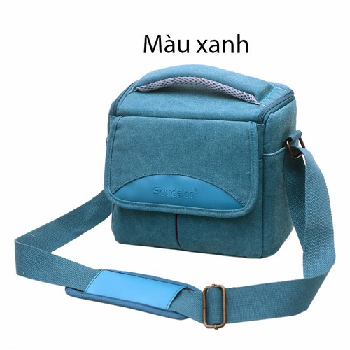 Túi máy ảnh vải bố Soudelor- size lớn màu xanh dương - 10438868 , 7065120 , 15_7065120 , 280000 , Tui-may-anh-vai-bo-Soudelor-size-lon-mau-xanh-duong-15_7065120 , sendo.vn , Túi máy ảnh vải bố Soudelor- size lớn màu xanh dương