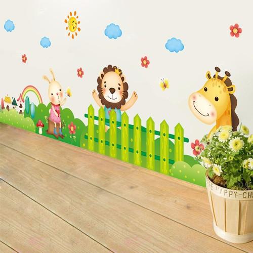 Decal dán tường hàng rào động vật cho bé - 7708435 , 7059664 , 15_7059664 , 35000 , Decal-dan-tuong-hang-rao-dong-vat-cho-be-15_7059664 , sendo.vn , Decal dán tường hàng rào động vật cho bé
