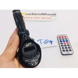 USB Bluetooth Đa Năng 5in 1 Cho Ô tô Car Mp3 Player  + Tặng kèm Remote