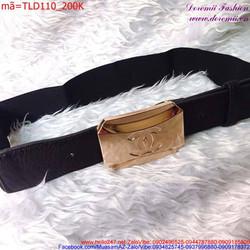 Thắt lưng đầm phối dây da cao cấp sang trọng TLD110