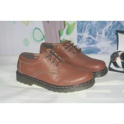 giày nam đế cao cổ thấp nâu
