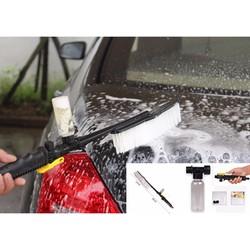 Chổi lau tích hợp vòi nước tiện dụng lau ô tô