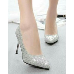 Giày cao gót 7 cm đinh đá