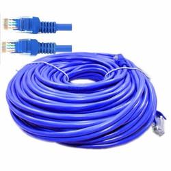 Cáp mạng internet mạng LAN Cat 5E 30m, 2 đầu bấm sẵn