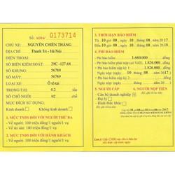Bảo hiểm ô tô chở hàng - xe tải từ 3 đến 8 tấn