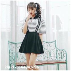 Đầm yếm dễ thương