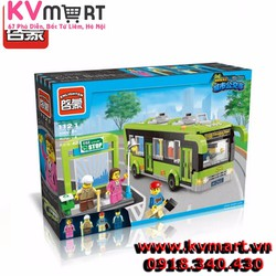Lắp ráp lego Enlighten 1121 - Chuyến xe bus du lịch