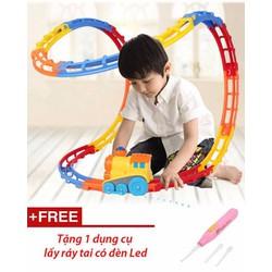 Bộ đồ chơi Đường tàu ma thuật - Tặng dụng cụ lấy ráy tai có đèn