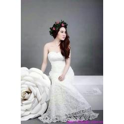 Đầm cô dâu cúp ngực váy ren đuôi cá quyến rũ sDD878
