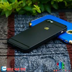 Ốp lưng iPhone 5 _ 5S silicon đen logo apple