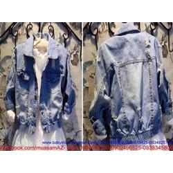 Áo khoác thời trang nữ hàng jean cao cấp phong cách
