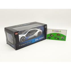 Xe mô hình sắt BMW i8 mở cửa có pin nhạc tỉ lệ 1:32 - 25051A
