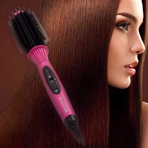 Lược điện uốn tóc đa năng Nova