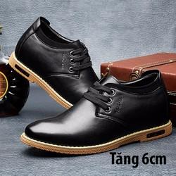 Giày da nâng chiều cao cho nam -GC77