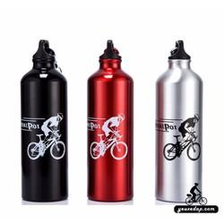 Bình nước xe đạp nhôm Sport Pot YXD-4505 - YXD-4505