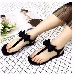 giày sandal quai nơ