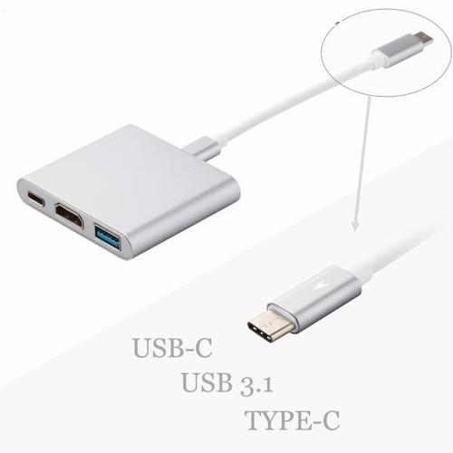 Cáp chuyển USB Type C sang HDMI và USB 3.0 giá rẻ - 10438954 , 7066146 , 15_7066146 , 350000 , Cap-chuyen-USB-Type-C-sang-HDMI-va-USB-3.0-gia-re-15_7066146 , sendo.vn , Cáp chuyển USB Type C sang HDMI và USB 3.0 giá rẻ
