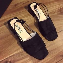 Sandal kiểu mới liền gót