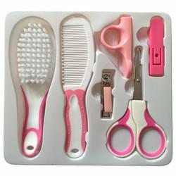 Bộ chăm sóc móng tay cho bé  Baby Care Kit màu hồng