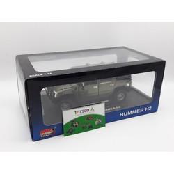 Xe mô hình sắt HUMMER H2 mở cửa tỉ lệ 1:24 - 26020