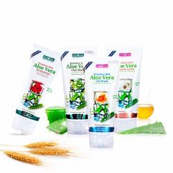 Bộ sản phẩm chăm sóc da chiết xuất Nha Đam Sensitive Skin Aloe Vera