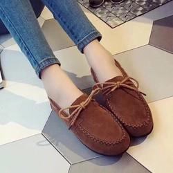 giày mọi nữ xinh thắt nơ