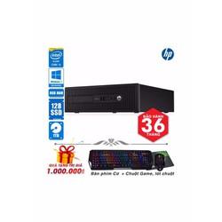 Máy tính nguyên bộ HP  800 core i3 4130, Ram 8GB, SSD 128GB, HDD 1TB