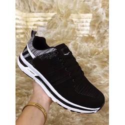 giày thể thao nam mẫu mới chất vải êm chân