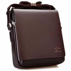 Túi Da Nam Đeo Chéo Đựng iPad Kanguru 102