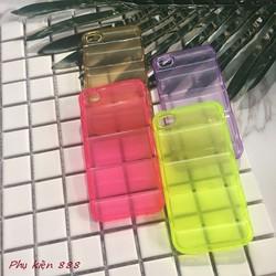 Ốp lưng Iphone 4,4S silicone nhiều màu