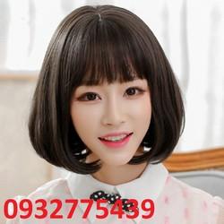 Bộ tóc giả tơ nhật có da đầu TG36