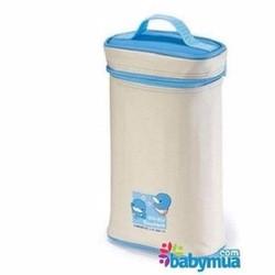 Túi ủ ấm bình đựng sữa 2 bình Kuku ku5448 - ku5448