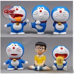 Trọn bộ 6 mô hình Doraemon - Mô hình Doraemon