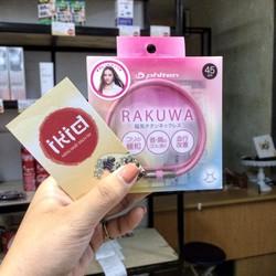 Vòng điều hòa huyết áp Phiten Rakuwa titan Nhật Bản từ 45 cm