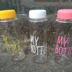 Bình nước nhựa My Bottle 500ml giá rẻ - 5 màu