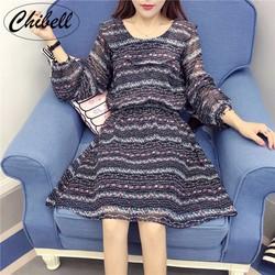 Đầm xòe họa tiết cung cấp bởi Chibell