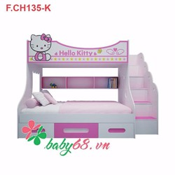 Giường tầng trẻ em Hello Kitty GT04