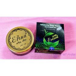 Kem dưỡng trắng da body Erina Whitening Body trà xanh
