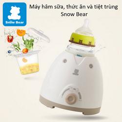 Máy hâm sữa, thức ăn và tiệt trùng Snow Bear chất lượng cao