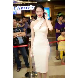 Đầm ôm body dự tiệc cut out quyến rũ như Linh Chi DV346