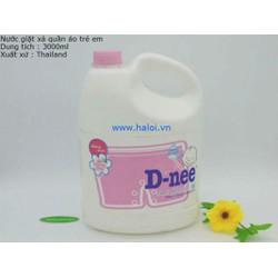 Nước giặt quàn áo em bé D-nee Hồng