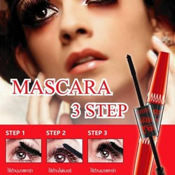 MASCARA NỐI MI 2 ĐẦU 5X LONG DEEP BLACK