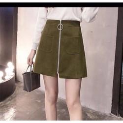 Chân váy khoá kéo thời trang Quảng Châu