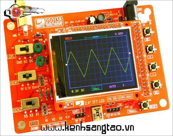Máy hiện sóng DSO138 25