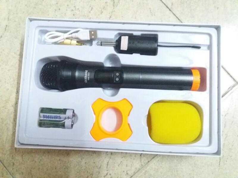 Micro không dây Qisheng QM-323 chất 4
