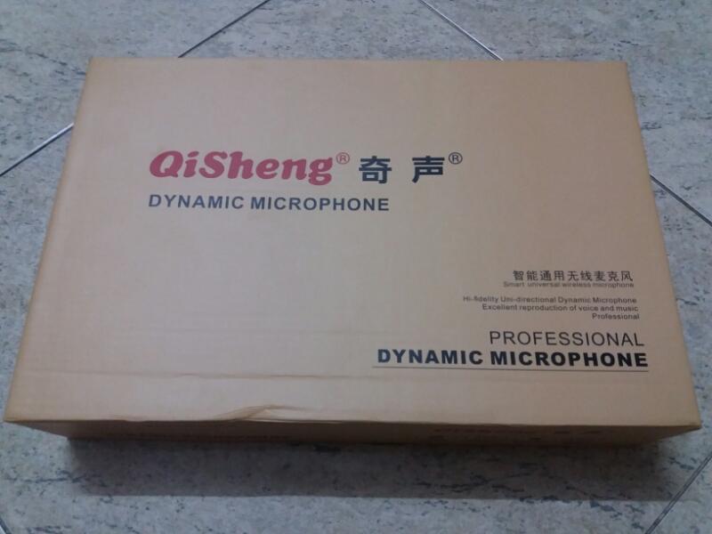 Micro không dây Qisheng QM-323 chất 2